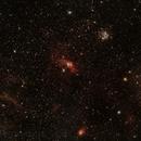 Bubble Nebula / M52 and others,                                Jeff Clayton