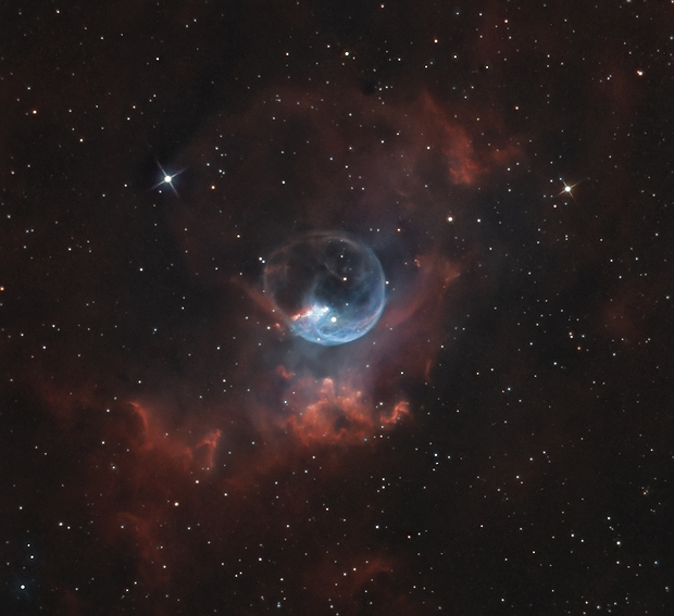 NGC 7635 - Nébuleuse de la bulle.,                                Jeffbax Velocicaptor