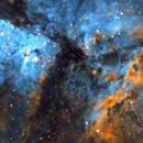 Core of Carina Nebula and  Bright Eta Carinae,                                BO PENG(ISAAC)
