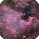 NGC7000 in 3 hour,                                Frédéric Tapissier