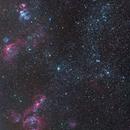 NGC1991, 1995, 1998,  2011, 2014, 2020, 2021, 2032, 2035, 2040 in Large Magellanic Cloud,                                Miroslav Horvat