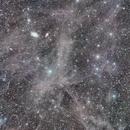 Integrated Flux Nebulae near M81 and M82,                                David Elmore