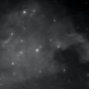 North American Nebula - mono style,                                Dan Kordella