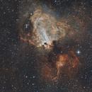 M17 Omega Nebula,                                Davecr7