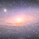 M31 WIP 5.3 hours,                                Richard Muhlack