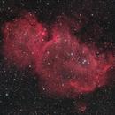 IC 1848 - Soul Nebula reprocessed,                                Peter Folkesson