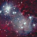 The Heart of The Cone Nebula,                                Wim Bijl