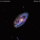 m88 galassia in  coma  berenice                                                         distanza 50 milioni  A.L.,                                Carlo Colombo