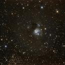 NGC 7129  Reflexionsnebel im Sternbild Kepheus,                                Horst Twele