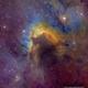 The Cave Nebula - SH2-155 - Hubble Palette,                                Eric Coles (coles44)