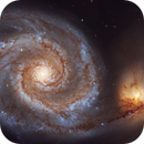 M51 from Hubble Legacy Archive data,                                John Renaud