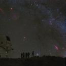 The Milkey Way in Winter at 2.4M Telescope,                                Tian Li 李天