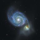 M51, Whirlpool Galaxy,                                oaklandish