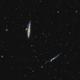NGC 4631 NGC 4656 Whale Nebula,                                litobrit