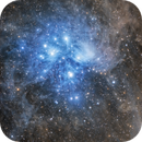 M45 The Pleiades,                                Chad Leader