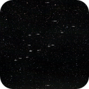Positions of 15 Messier objects in Virgo Cluster - wide field,                                AC1000
