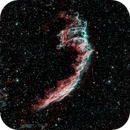 Eastern Veil: Ha and OIII,                                keving