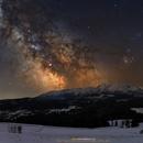 Milky Way over Tatra Mountains,                                Michal Kaluzny