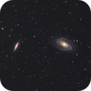 M81 and M82 - Spiral Galaxies in Ursa Major,                                Hap Griffin