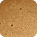 2013-03-09 @ 12-45-05gmt: The Sun in WL-> AR 11690 and 11691  in Close-up,                                Fernando