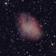 M1 Crab nebula,                                Marco Wischumerski