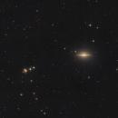 M104  Sombrero Galaxy,                                sylvain Maspeyre