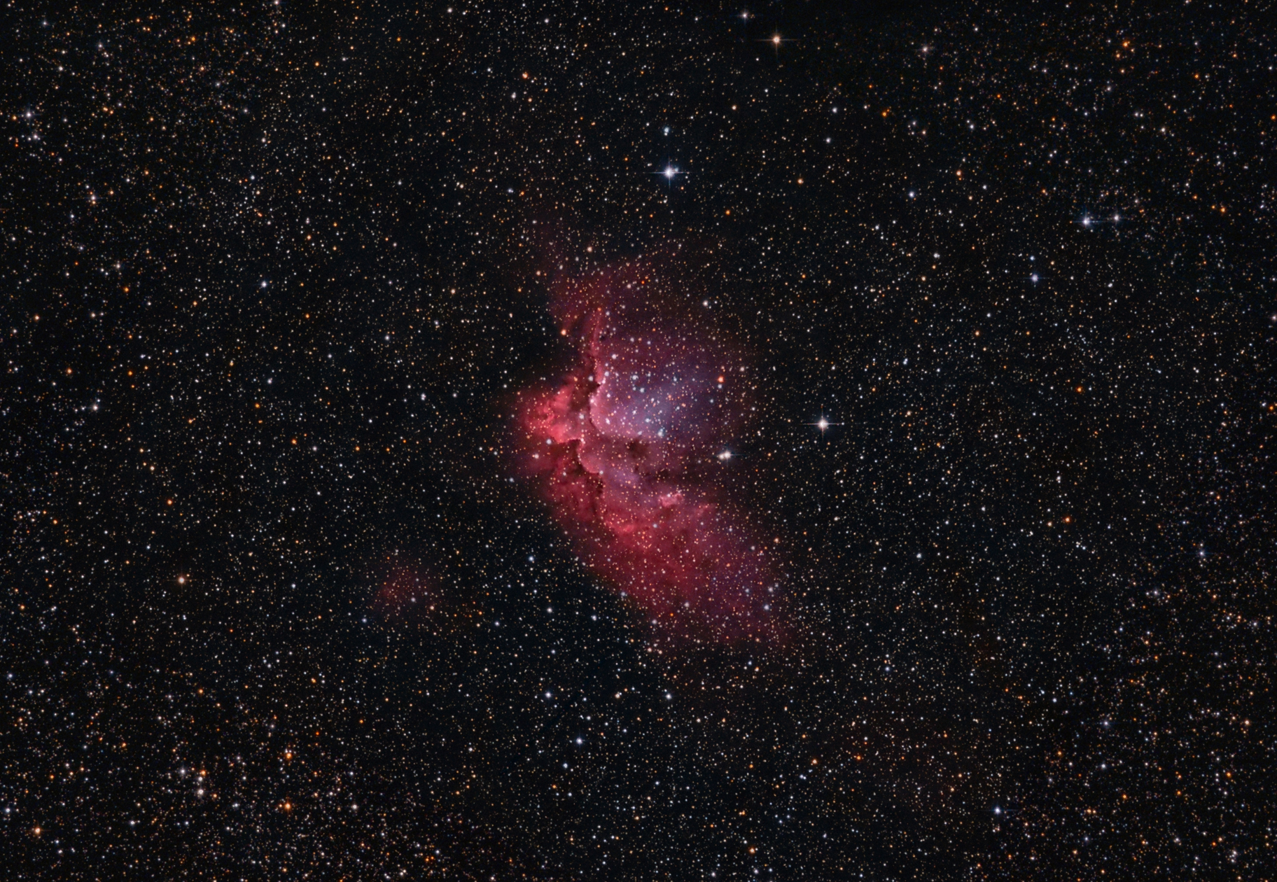 The Wizard Nebula NGC 7380,                                Robert Eder