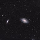 Bode's nebula M81/M82,                                Manicsponge