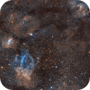 Gran campo nebulosa burbuja a la caverna,                                Xema García
