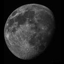 Moon on 24.04.2021 - two panel mosaic,                                Almos Balasi