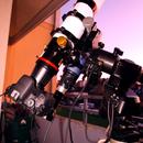 Mein Balkonequipment mit APO ist startklar für die Nacht,                                astrobrandy
