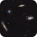 The Leo Triplet (M65, M66, NGC 3628),                                Josh Woodward