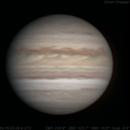 Jupiter | 2018-08-16 3:39 UTC | Color,                                  Ethan & Geo Chappel