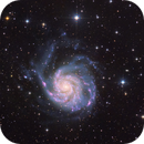 Messier 101 - The Pinwheel galaxy,                                Rafael Schmall