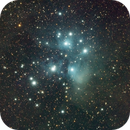 M45 / Pleiades RGB with Samyang 135 / ASI183MM,                                Ben