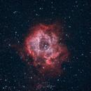 Rosette Nebula under full moonlight and bortle 8 skies,                                Björn Hoffmann