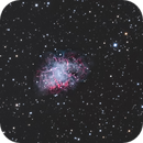 M1 Crab Nebula in RGB,                                wannaberocker_x
