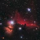 Horsehead & Flame Nebulae,                                Héctor Henríquez Leighton