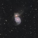 M51 -  Whirlpool Galaxy,                                  Jan Schubert