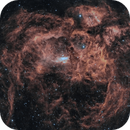 The Lobster Nebula in HOO,                                Alex Roberts