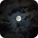 Moon & clouds,                                star-watcher.ch
