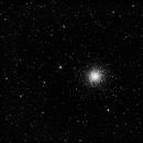 M13 - Prism first light image,                                  Scott Iver