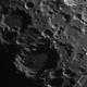 Cratere  Longomontanus,                                gioveluna