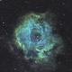 Rosette Nebula - my first narrowband,                                Job Bacon