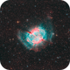 The Dumbbell Nebula (Messier 27),                                Luca Marinelli