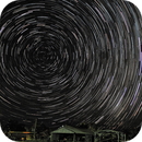 Stars above an old timber mill,                                Ken