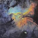 NGC6188 Dragons of Ara 2 panel mosaic in SHO,                                robonrome