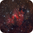 CAVE NEBULA Sh2-155,                                Amir H. Abolfath