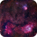 M8, M20 and NGC 6559,                                CrestwoodSky