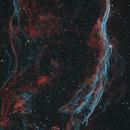 The Western Veil Nebula,                                Gabe Shaughnessy